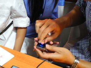 Test Sidik Jari Menggunakan Sensor U are U 4500